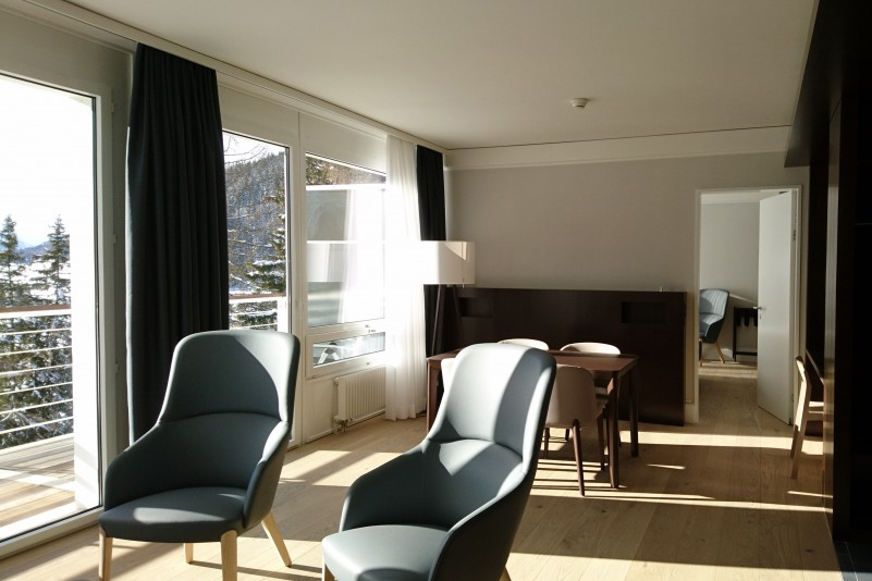 Etappenweise Aufwertung der HGK fortgeführt – hotelähnliche Umgebung neu auch in den Gästezimmern des 4.OG