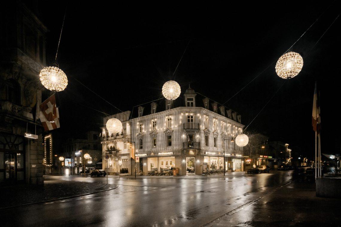 Weihnachtsbeleuchtung Uster